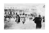 Busy Square in Mosul, Mesopotamia, 1918 Giclee Print