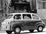 1963 Fiat 600 Multipla, (C1963) Photographic Print