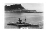 Battleship HMS Revenge Off Gilbralter, 1937 Giclee Print
