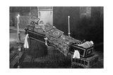 Lying in State, the Late Armenian Patriarch Giclee Print