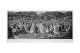 Royal Garden Party at Chiswick House, Hounslow, London, C1875 Giclee Print