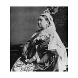 Queen Victoria in Ceremonial Robes at Her Golden Jubilee, 1887 Giclee Print