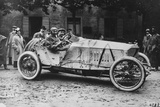 Mercedes Which Came Third in the 1914 French Grand Prix Photographic Print