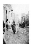 A Street in Mosul, Mesopotamia, 1918 Giclee Print