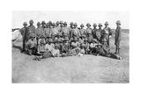 British Army C Group Detachment, Mesopotamia, Wwi, 1918 Giclee Print