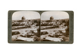 The Dome of the Rock, Where the Temple Alter Stood, Mount Moriah, Jerusalem, Palestine, 1900 Giclee Print