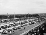 Start of the Le Mans Race, France, 1950 Photographic Print