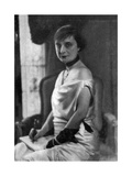 Anna De Noailles, French Author, 1930 Giclee Print