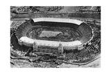 The First Cup Final at Wembley Stadium, London, 1923 Giclée-trykk