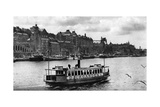 A Ferry on the Way to the Island of Djurgarden, Stockholm, Sweden, C1923 Giclee Print