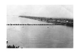 Lower Pontoon Bridge, Baghdad, Mesopotamia, Wwi, 1918 Giclee Print