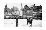 The Liberation of Strasbourg, France, November 1944 Giclee Print