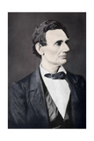 Abraham Lincoln, 16th President of the United States, 1860S Giclee Print by Alexander Hessler