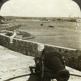 Cannon, Morro Castle, Havana, Cuba Photographic Print by  Underwood & Underwood