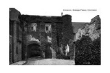 Entrance to the Bishop's Palace, Chichester, Sussex, Early 20th Century Giclee Print