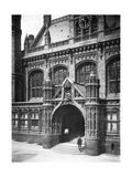 Entrance to the Law Courts, Birmingham, 1902-1903 Giclee Print