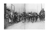 Lille Being Liberated by the British, France, 17 October 1918 Giclee Print