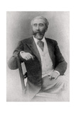 Jose-Maria De Heredia, Cuban-Born French Poet, 1902 Giclee Print