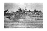 Mosque and Graveyard Near Baghdad, 1918 Giclee Print
