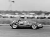 Peter Collins in a Ferrari Dino, British Grand Prix, Silverstone, 1958 Photographic Print