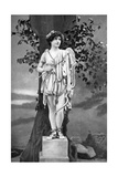 Unity Moore (1894-198), Irish Actress, 1911-1912 Giclee Print