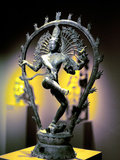 Bronze Figure of Shiva, Tamil Nadu, India, 950 Photographic Print