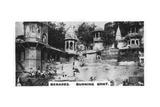 Burning Ghat, Benares, India, C1925 Giclee Print