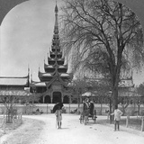 Front View of the Royal Palace, Mandalay, Burma, 1908 Photographic Print