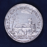 Obverse of a Medal Commemorating the Brilliant Comet of November 1618 Photographic Print