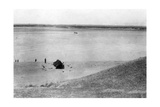 Tigris River, Samarra, Mesopotamia, 1918 Giclee Print