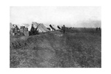 British 1/5 Rwr Camp, Near Baghdad, 1918 Giclee Print