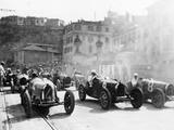 Monaco Grand Prix, 1929 Photographic Print
