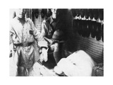 A British Officer in a Shoe Shop, Baghdad, Mesopotamia, WWI, 1918 Giclee Print