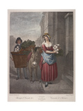 Turnips and Carrots Ho, Cries of London, C1870 Giclee Print by Francis Wheatley