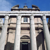 The Temple of Antoninus and Faustina, Rome Photographic Print