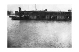 River Boat on the Tigris, Mosul, Mesopotamia, 1918 Giclee Print