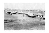 1/5 RWR Battalion Camp, Samarra, Mesopotamia, 1918 Giclee Print