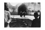 Entrance of Baghdad Bazaar, Mesopotamia, Wwi, 1918 Giclee Print