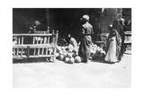 Fruit Stall, Baghdad, Mesopotamia, Wwi, 1918 Giclee Print