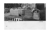 Grave of the Poet William Wordsworth, Grasmere, Westmorland, 20th Century Giclee Print