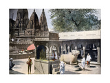 Gyan Bapi (Well of Knowledg), Varanasi, India, C1890 Giclee Print