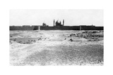 Golden Dome and Minarets of the Samarra Mosque, Mesopotamia, 1918 Giclee Print