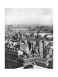 A View South-Eastward from Bush House as Far as Blackheath, London, 1926-1927 Giclee Print