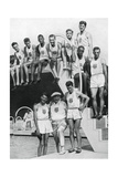 Athletes at the Us Olympic Trials, 1932 Giclee Print