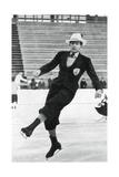 Jack Dunn, British Figure Skater, Winter Olympics, Garmisch-Partenkirchen, Germany, 1936 Impression giclée