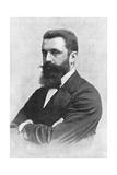 Theodor Herzl (1860-190), Zionist Leader Giclee Print