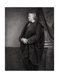 Alfred De Vigny, French Poet, Playwright and Novelist, 1862 Giclee Print