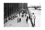 The Terrace, Afternoon Tea, Palace of Westminster, London, C1905 Giclee Print