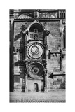 The Prague Astronomical Clock, Czechoslovakia, C1930s Giclee Print
