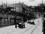 Start of the Inaugural Monaco Grand Prix, 1929 Photographic Print